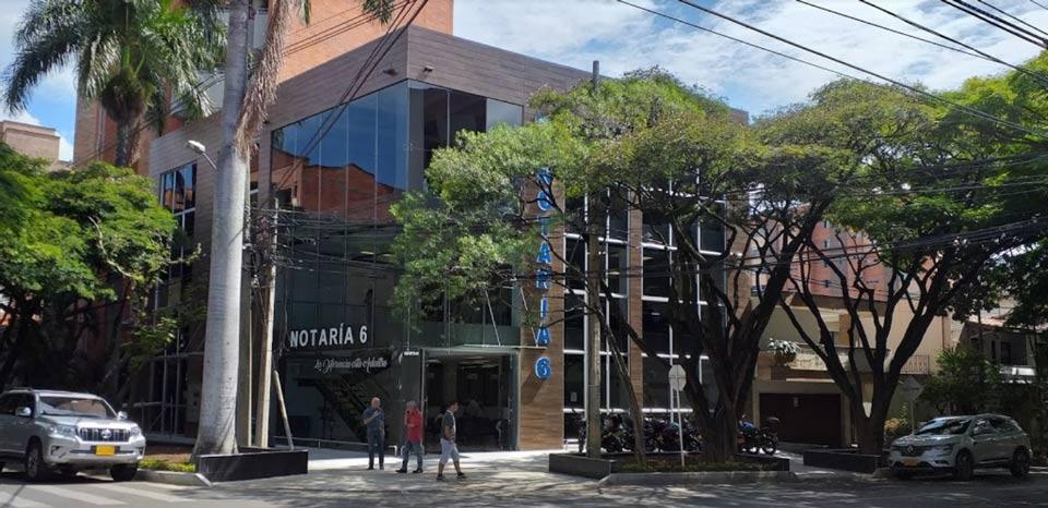 Notaría Sexta de Medellín
